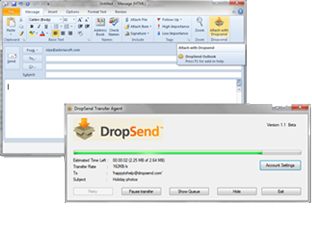 DropSend for Outlook